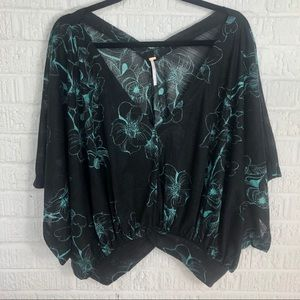 🌸JUST IN🌸Free People Floral Blouse